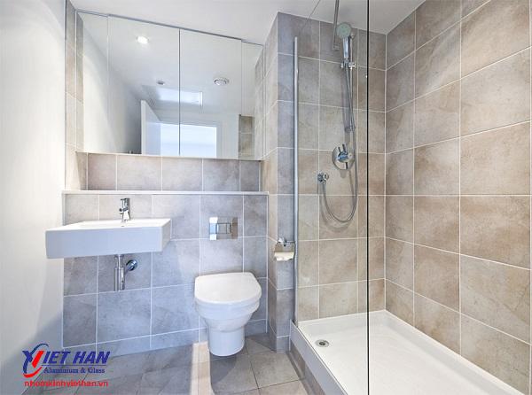 Xu hướng lựa chọn vách kính cho nhà tắm